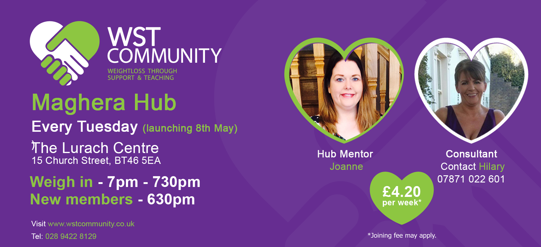 Launch of WST Community Maghera Hub